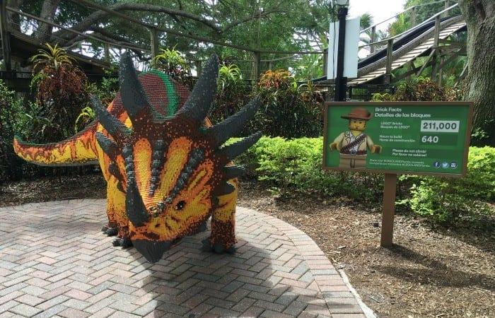 Legoland Florida dino