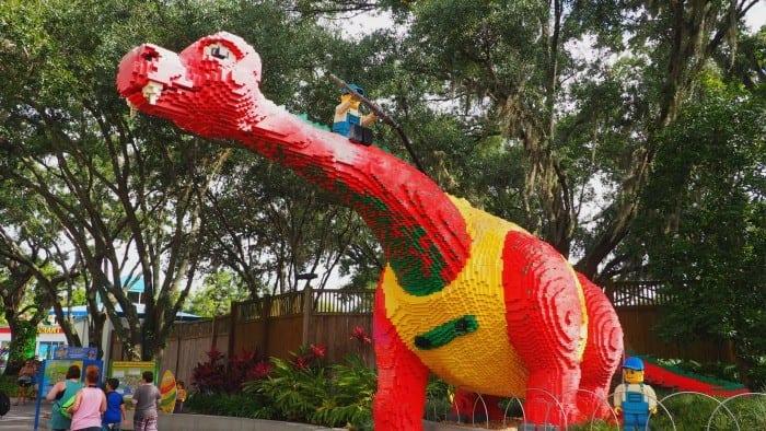 Legoland Florida dinosaur