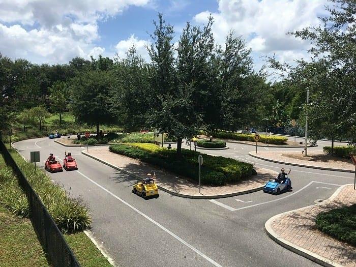 Ford driving school at Legoland Florida