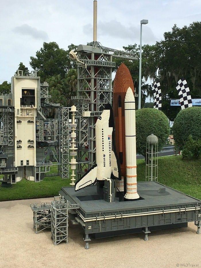 Legoland Florida Miniland Kennedy Space Center