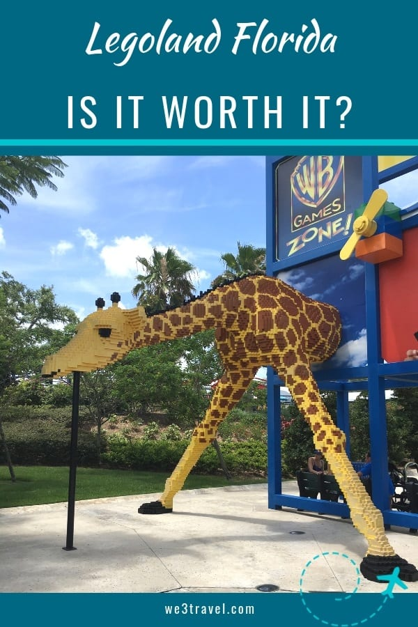 Is Legoland Florida worth it? Find out with this honest Legoland Florida review. #legoland #florida #orlando #legos