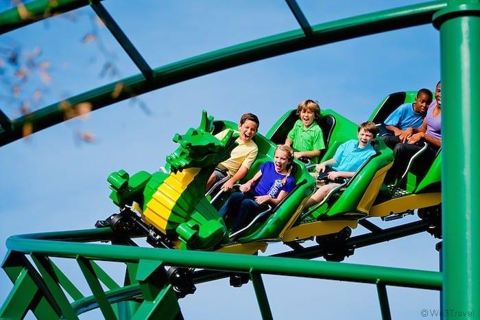 Legoland Florida Dragon Coaster