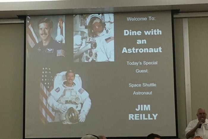 KSC Lunch with an astronaut