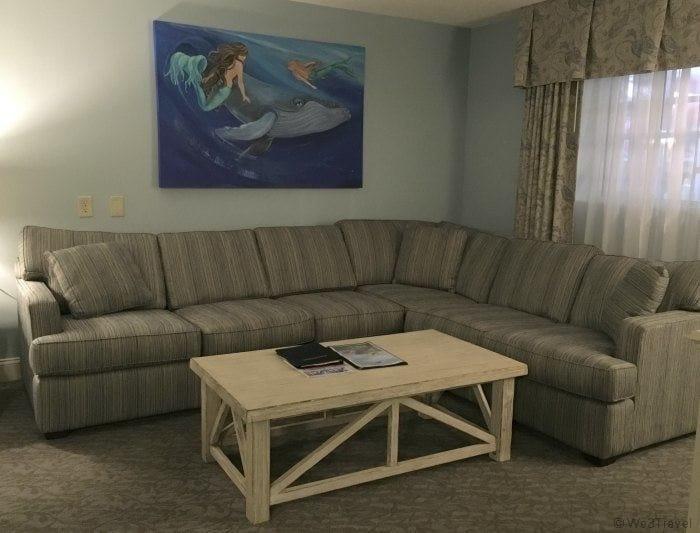Cape Codder family suite living room