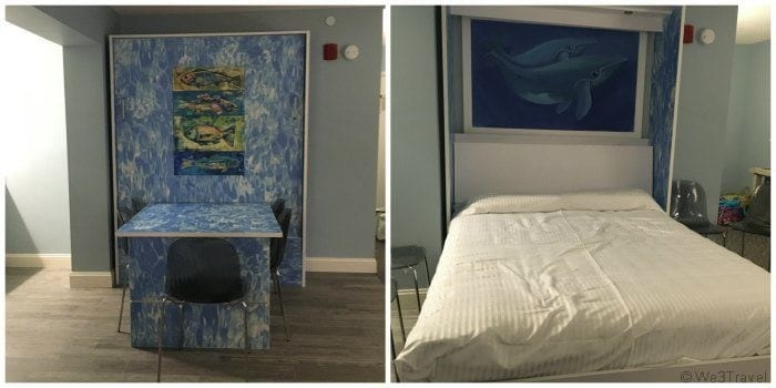 Cape Codder Resort review: murphy bed
