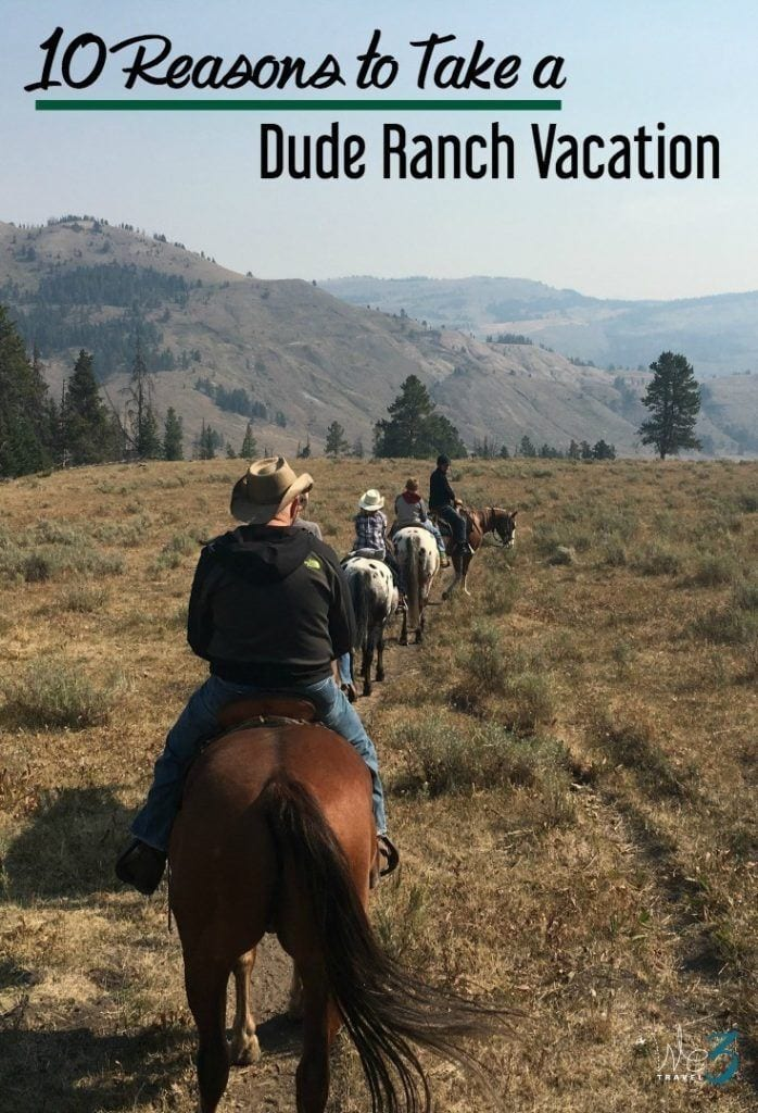 Dude ranches are a great all-inclusive vacation option for families to connect with each other and the outdoors.