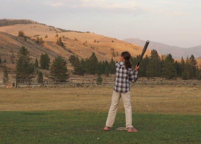softball at the ranch