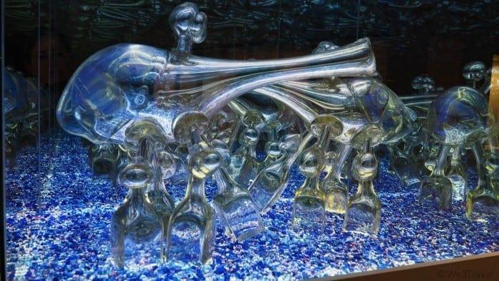 Corning museum of glass aliens