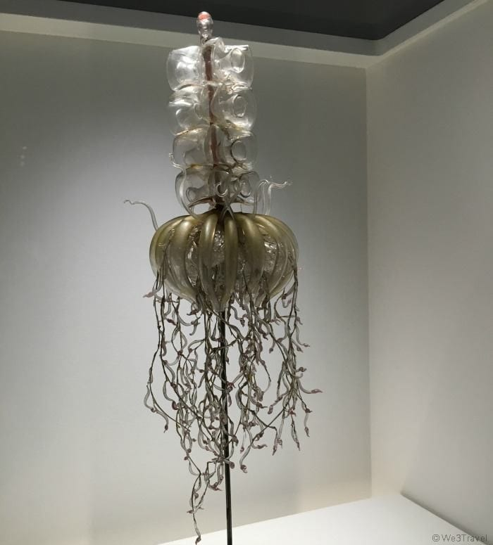 Glass sea creatures