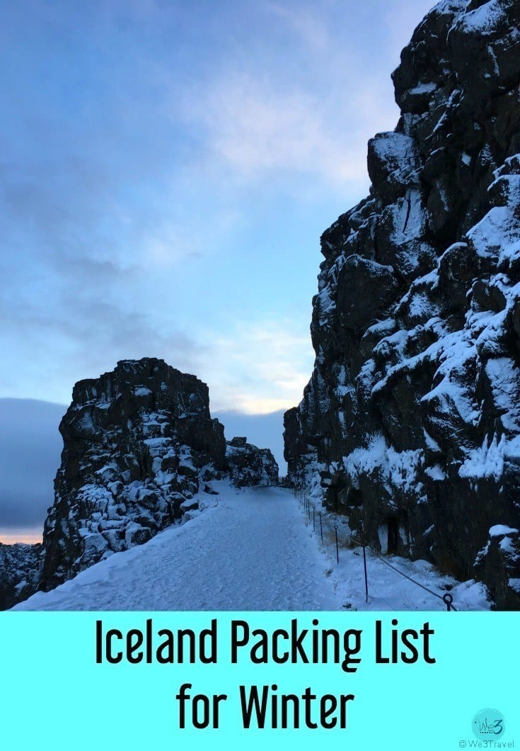 Iceland Packing List for visiting Iceland in winter | What to wear in Iceland in winter