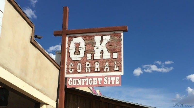 OK Corral gunfight site