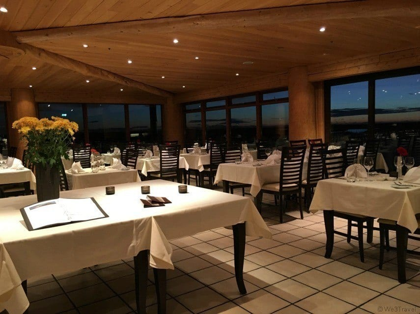 Fine dining in Iceland at the Hotel Ranga