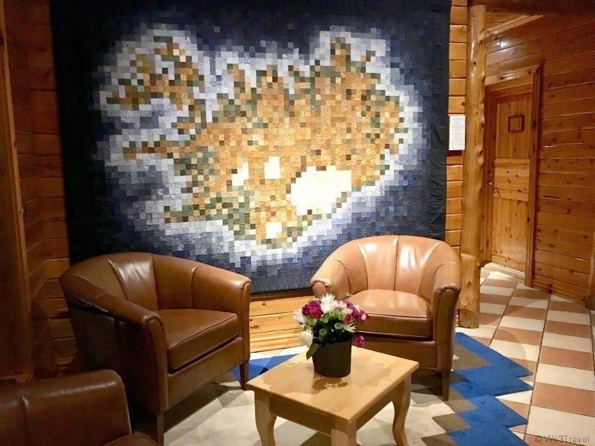 Hotel Ranga reception area