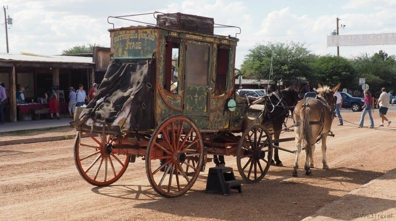Old Butterfield stage coach tour