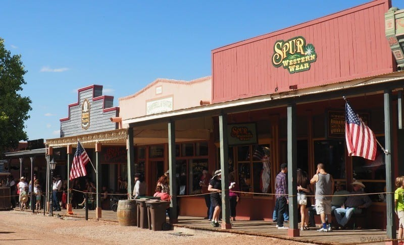 Tombstone shops