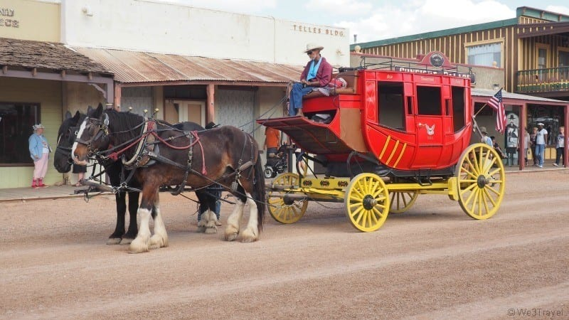Tombstone stage coach