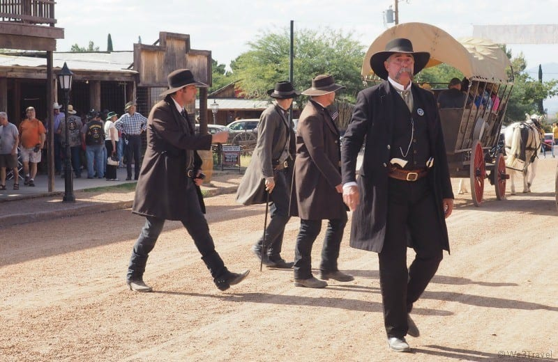 Things to do in Tombstone AZ gunfight at the OK corral