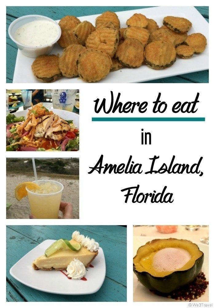 Where to eat in Amelia Island Florida | Fernandina Beach restaurants | Jacksonville Florida