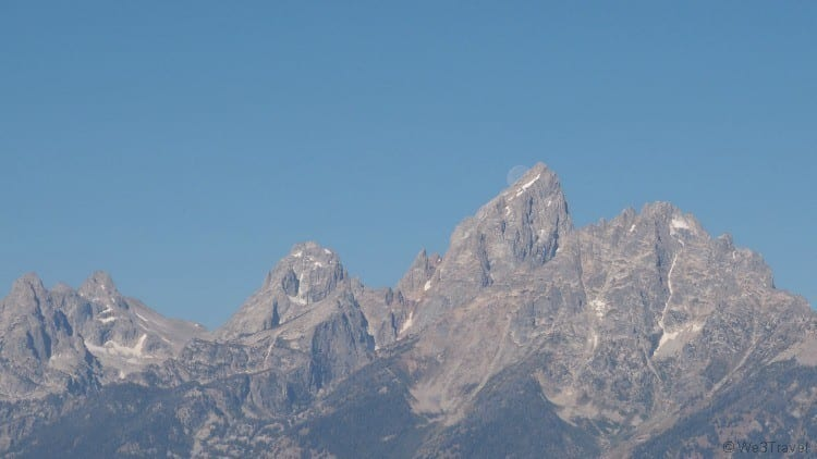 Glacier View overlook Grand Teton National Park attractions