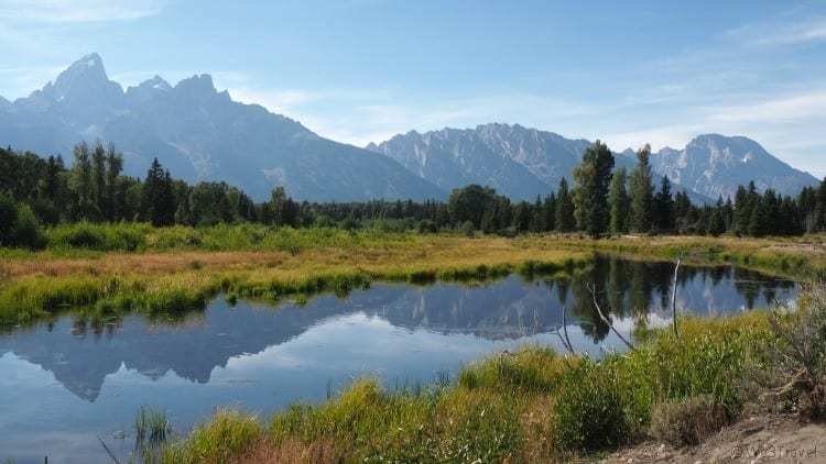 Things to do in Grand Tetons National Park Schwabacher Landing