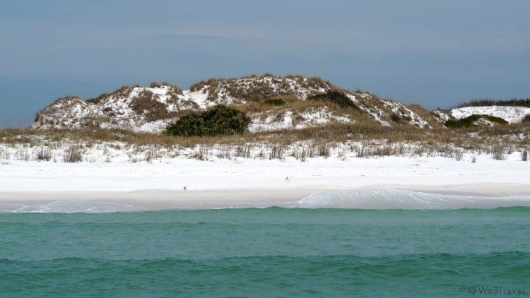 What to do in Panama City Florida : Shell Island