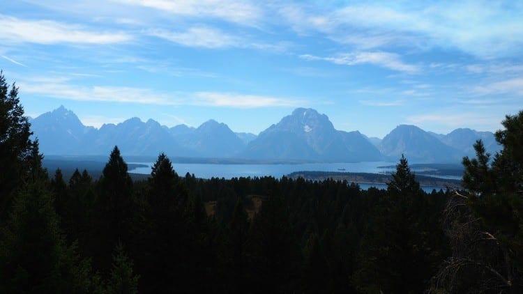 Jackson Overlook Signal Mountain Grand Tetons