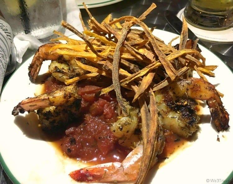 BBQ shrimp Shipyard Grill Panama City Florida