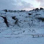 Thorsmark valley glacier