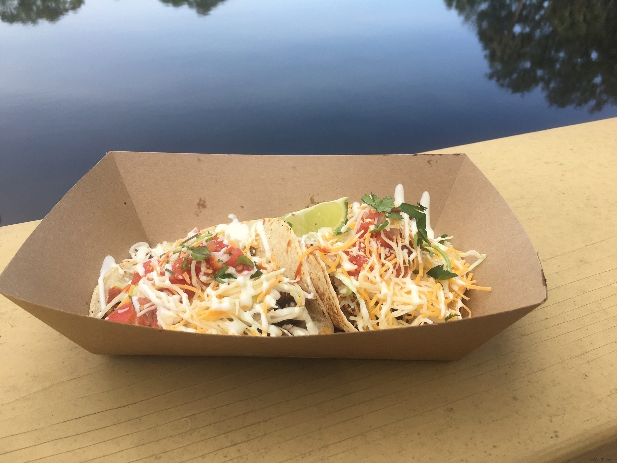 Fish tacos in Panama City Florida
