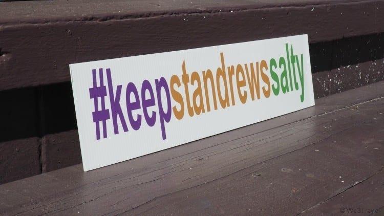 Keep St Andrews Salty