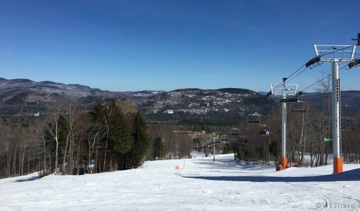 Maine in winter