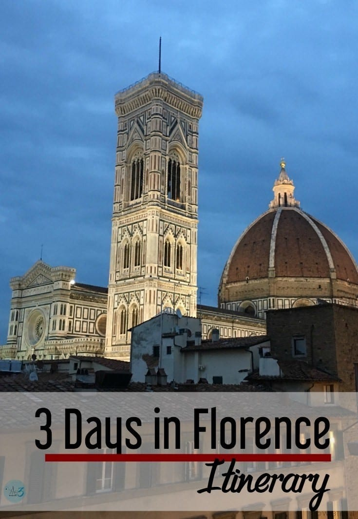 Florence itinerary | Three days in Florence | Florence with teens | Florence with kids | Florence Italy