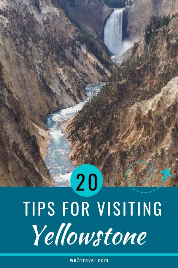 Tips for visiting Yellowstone National Park that you need to know before you start planning your trip. #yellowstone #nationalparks