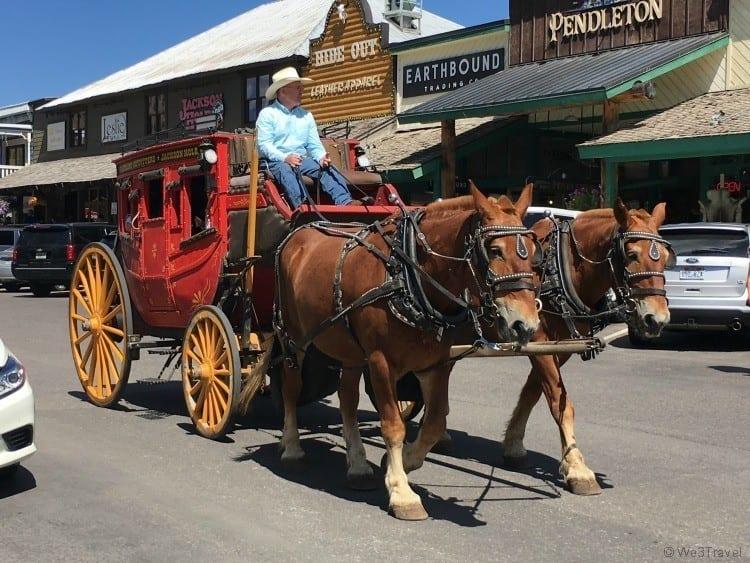 Jackson Wyoming stagecoach