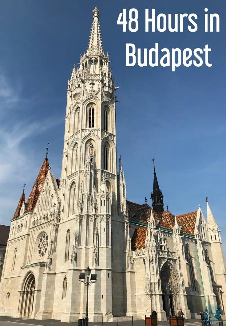 48 Hours in Budapest | Budapest Hungary | Budapest travel | Budapest food