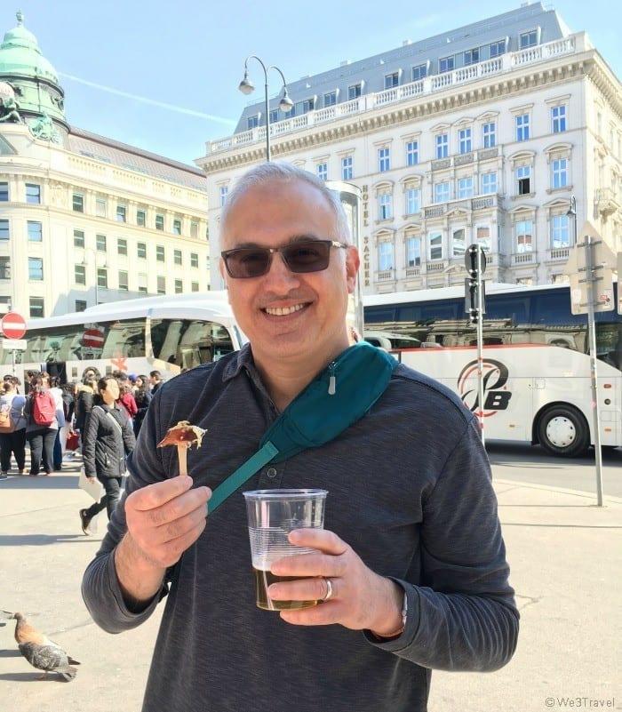 Bitzinger sausage stand in Vienna