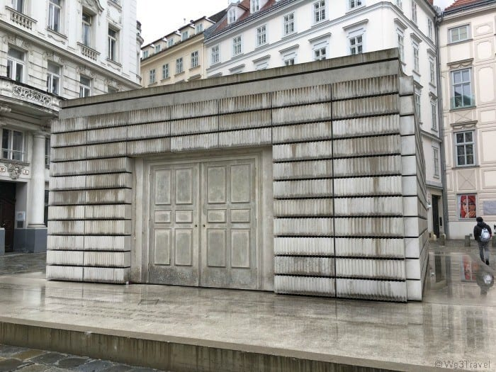Vienna Holocaust memorial