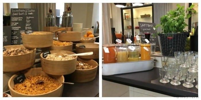 Palais Hansen Kempinski Vienna breakfast buffet