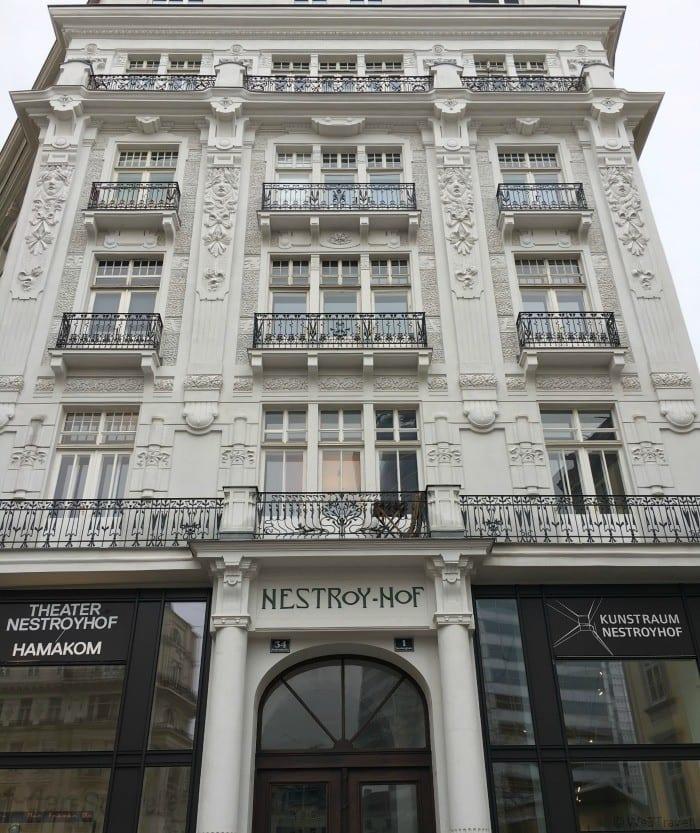 Nestroyhof theater Vienna