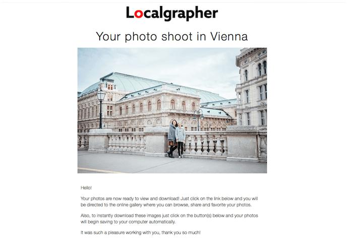 Localgrapher email