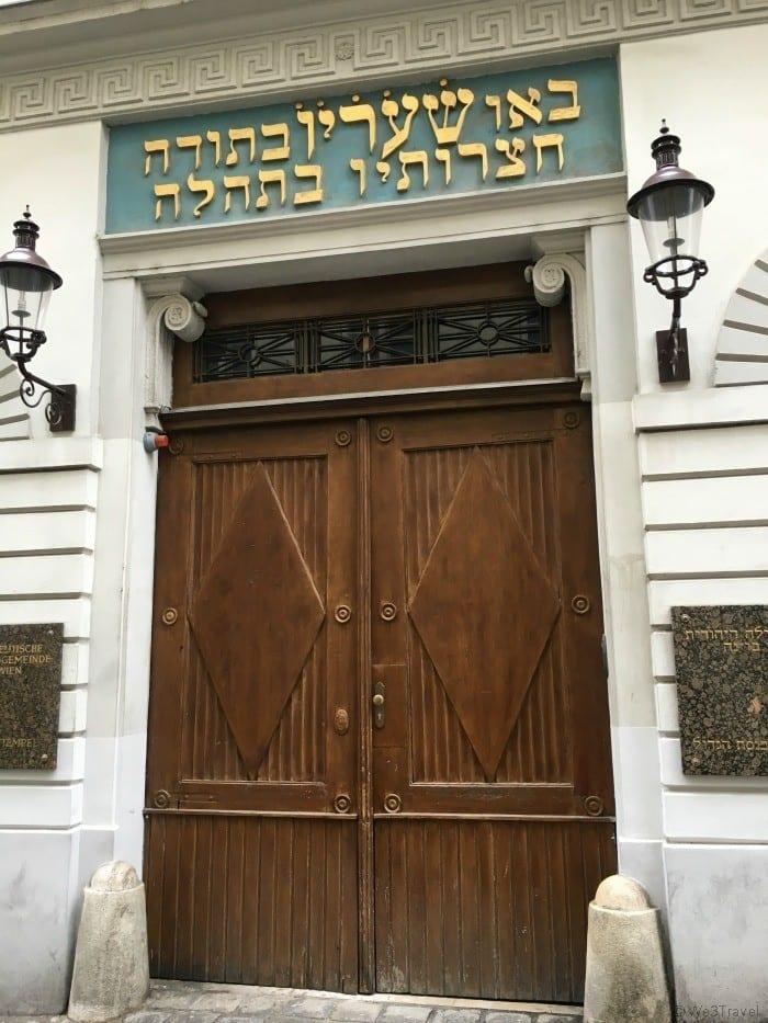 Jewish tour Vienna