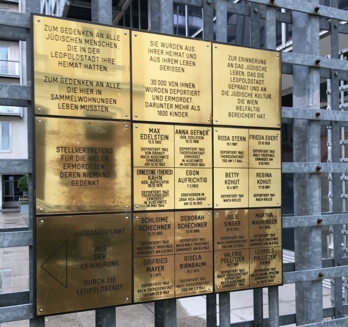 Vienna memorial stones
