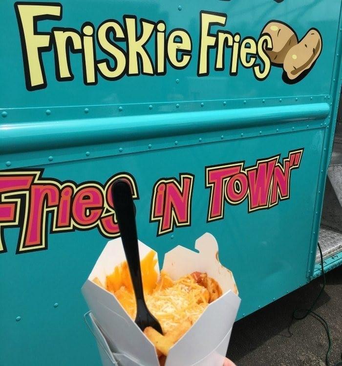 Friskie fries food truck