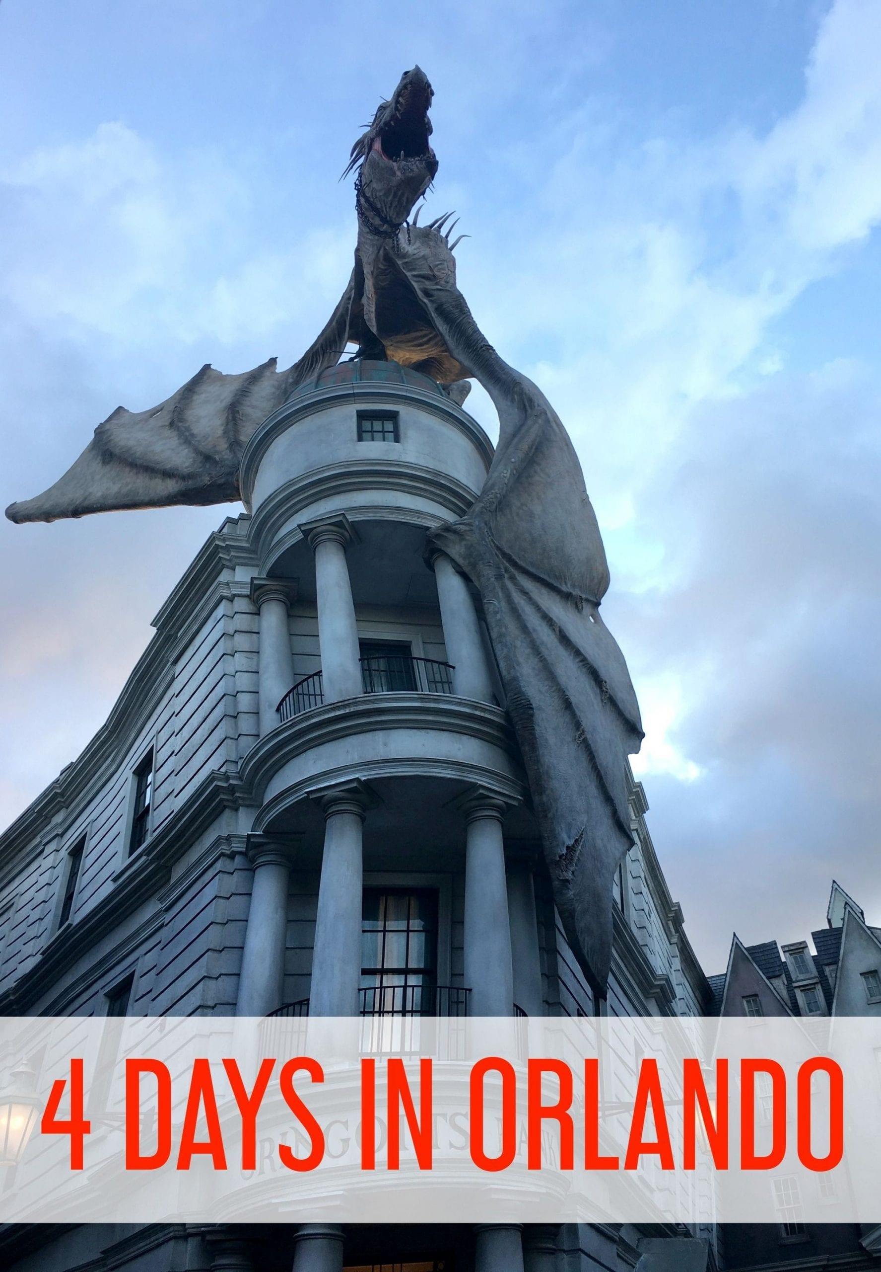 Four days in Orlando: Maximizing your Orlando Florida vacation