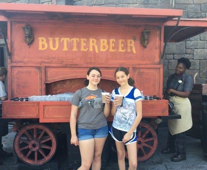 Butterbeer cart in Universal Islands of Adventure