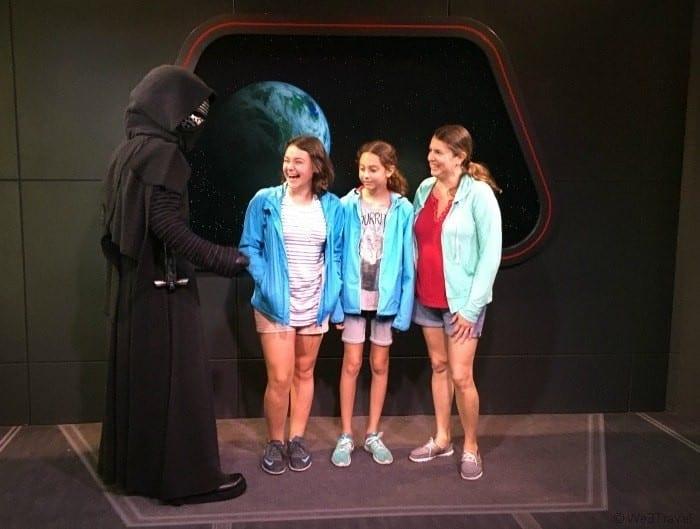 Kylo Ren Star Wars launch bay