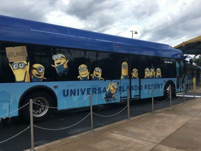 Universal Orlando bus