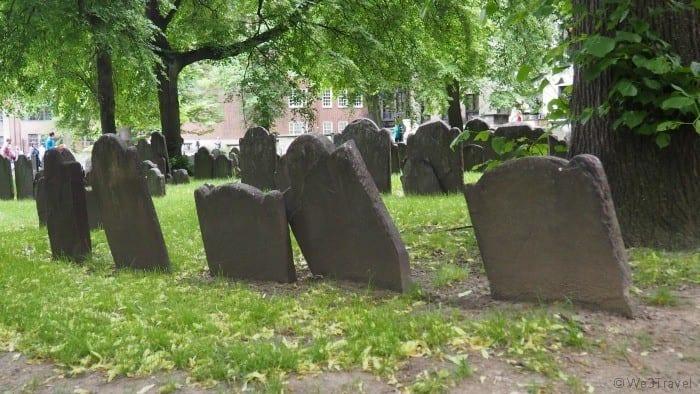 Freedom Trail Graveyard