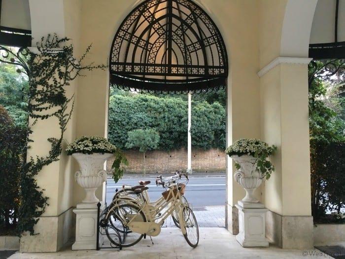 Hotels in Rome with a pool - Aldrovandi Villa Borghese