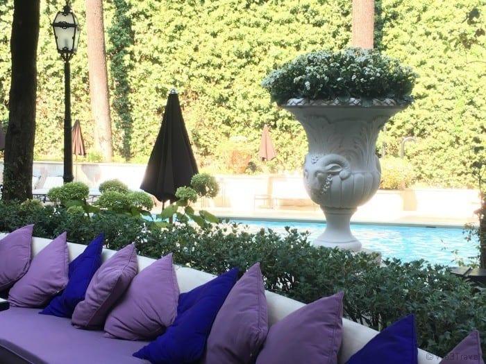Aldrovandi villa borghese Rome hotel with pool